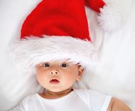 Bebê do Natal Foto de Stock Royalty Free