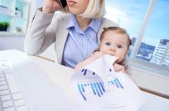 Bebê do negócio Imagens de Stock