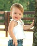 Bebê do país imagens de stock royalty free