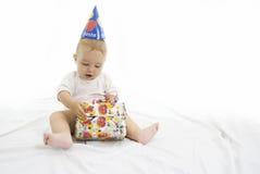 Bebê do partido Fotografia de Stock Royalty Free