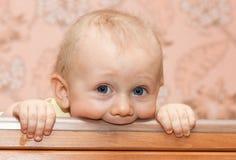 Bebê do Teething Imagem de Stock Royalty Free