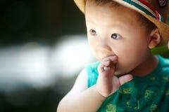 Bebê do verão fotografia de stock royalty free