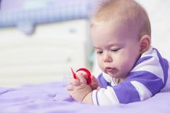 Bebê doce Fotografia de Stock
