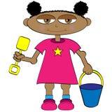 Bebê dos desenhos animados Fotografia de Stock Royalty Free