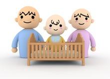 Bebê dos pares Fotos de Stock