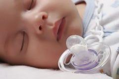 Bebê e manequim Fotografia de Stock