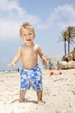Bebê em férias Imagens de Stock