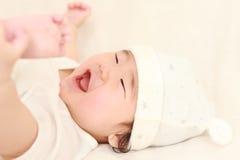 Bebê em um bom humor Fotos de Stock Royalty Free
