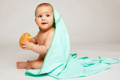 Bebê encantador Foto de Stock