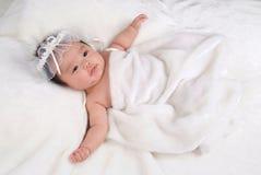 Bebê encantador fotos de stock royalty free