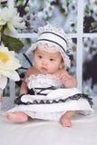 Bebê encantador Fotografia de Stock