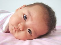 Bebê encantador Foto de Stock Royalty Free