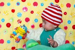 Bebê encantador chinês Fotografia de Stock