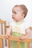 Bebê encantador interno Fotografia de Stock