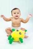 Bebê engraçado Foto de Stock