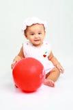 Bebê engraçado Imagens de Stock Royalty Free