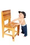 Bebê ereto Imagens de Stock Royalty Free
