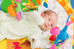 Bebê feliz Imagem de Stock Royalty Free