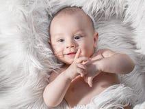 Bebê, fim acima fotografia de stock royalty free