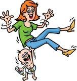 Bebê forte Imagens de Stock Royalty Free