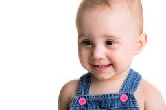Bebê girl Imagem de Stock Royalty Free