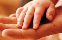 Bebê hand3 Imagens de Stock