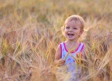 Bebê idoso bienal adorável Foto de Stock Royalty Free