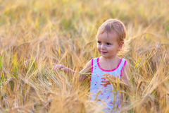 Bebê idoso bienal adorável Imagens de Stock Royalty Free