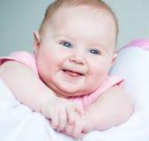 Bebê idoso de três meses Fotografia de Stock Royalty Free