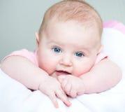 Bebê idoso de três meses Foto de Stock