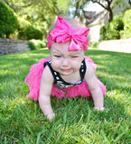Bebê infeliz Fotos de Stock