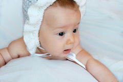 Bebê inocente Imagem de Stock Royalty Free