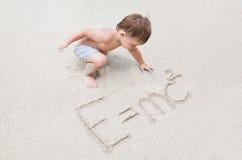 Bebê inteligente fotos de stock