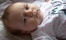 Bebê irritado Imagem de Stock