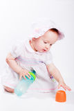 Bebê, menina Fotografia de Stock Royalty Free