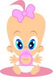 Bebê-menina Imagem de Stock