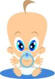 Bebê-menino Foto de Stock