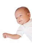 Bebê-menino pequeno bonito Imagens de Stock Royalty Free