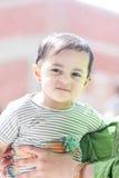 Bebê muçulmano árabe feliz Fotografia de Stock