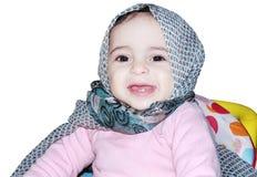 Bebê muçulmano foto de stock royalty free