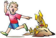 Bebê & munição ilustração royalty free