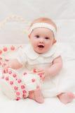Bebê na Páscoa Imagens de Stock