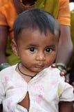 Bebê na pobreza Fotos de Stock