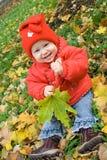 Bebê na terra Imagem de Stock Royalty Free