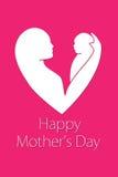 Bebê nas mãos da mãe - sira de mãe ao dia do ` s Imagem de Stock Royalty Free