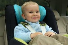 Bebê no assento de carro Foto de Stock Royalty Free