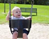 Bebê no balanço Imagens de Stock