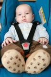 Bebê no carro Fotografia de Stock Royalty Free