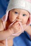 Bebê no chapéu Imagem de Stock Royalty Free