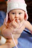 Bebê no chapéu Fotografia de Stock Royalty Free